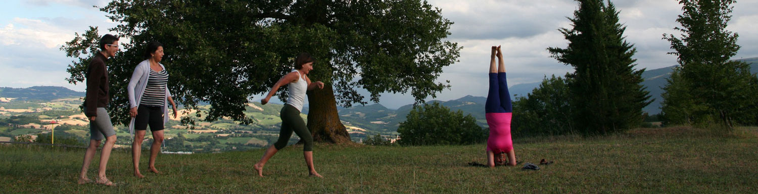 yoga classes and meditation in Marche Italy